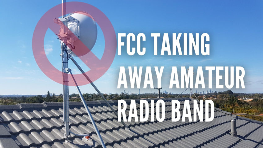 9 cm ham radio band fcc
