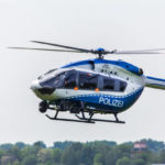 german police helicopter